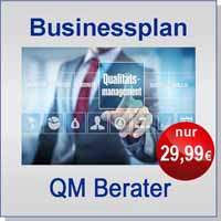 Businessplan Qualitätsmanagementberater