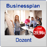 Businessplan Dozent